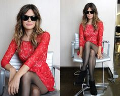 FashionCherry rachel-bilson-french-connection-anna-lace-dress