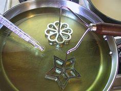 How to Make Scandinavian Rosette Cookies