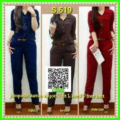jual baju wanita jumpsuit modis S.519