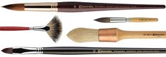 Escoda Brushes @ University Art- Great quality for great artists