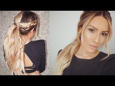Bohemian Braid Hair Tutorial - YouTube