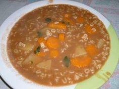 Imagem da receita Sopa de feijão com macarrão