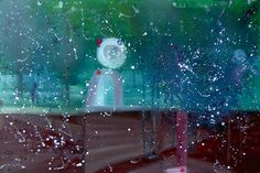 "Saatchi Art Artist Min Zou; Painting, ""Supernatural space"" #art"