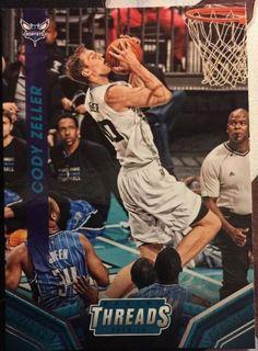 2014-15 Panini Threads Charlotte Hornets Basketball Card #32 Cody Zeller