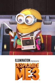 Promoted. The perfect gift for the culture commander in your life! This holiday season Gru, Lucy, their adorable daughters, and the minions are back in the #1 animated comedy of the year. Own Despicable Me 3 with an all-new mini-movie! Available on iTunes.