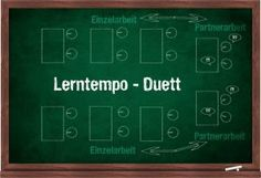 Lerntempo Duett, eine Methode des kooperativen Lernens gut geeignet für Trainings, individuelles Arbeitstempo möglich, Vergleichmöglichkeiten