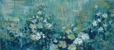 "Saatchi Art Artist Tanya Vasilenko; Painting, ""Fantasies & Roses (2)"" #art"
