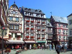 Bernkastel-Kues aan de Moezel, Duitsland