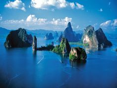Phang Nga Bay, Thailand