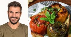 Greek Recipes, Meat Recipes, Baking Recipes, Dinner Tonight, Baked Potato, Menu, Cooking, Ethnic Recipes, Baked Food