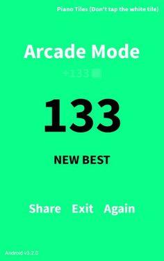 New score (133)!!!!!!!!!!!!!