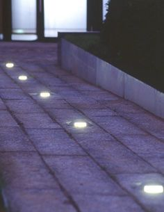 recessed floor light for public spaces PESCARA LED Hess AG