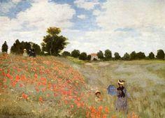 Ипрессионизм Клод Моне поле маков у аржантёя #impressionism #импрессионизм
