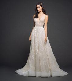 Lazaro Style 3805 Bridal Gown Front