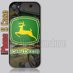 John Deere Tractors and Engines Logo iPhone 5 Case Cover
