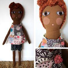 Organic Cotton Doll