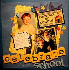 Layout: Celebrate starting school
