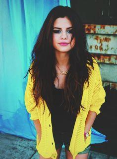 SELENA GOMEZ in yellow  | Pin Selena Gomez Yellow T Hd 1080p Wallpaper Download Free on ...