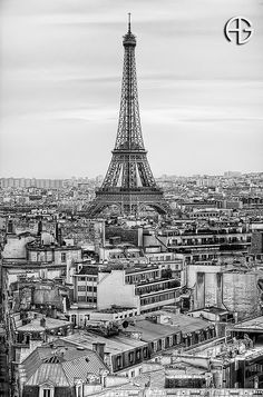 Eiffel by A.G. Photographe, via Flickr
