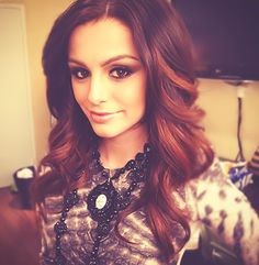 Cher Lloyd always has this dark effect with her makeup and it really suits her, she is just super gorgeous!