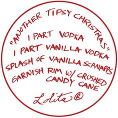 Lolita® Another Tipsy Christmas Recipe