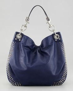 b5ba1c9a36b2 Rebecca Minkoff Luscious Mini Studded Hobo Bag