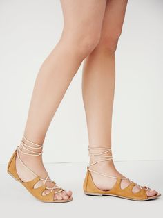 Free People  Marrakesh Lace Up Sandal, $78.00