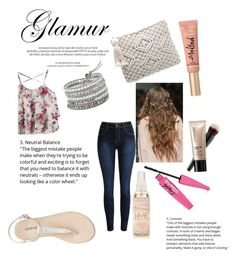 """""""patterns"""" by nellycrowe on Polyvore featuring Louis Vuitton, H&M, Too Faced Cosmetics and Bare Escentuals"""