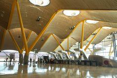 Madrid Barajas Airport von MOSO reference projects | Herstellerreferenzen