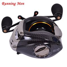 82.44$  Buy here - http://alicmk.worldwells.pw/go.php?t=32752147050 - 2017 New yumoshi 6.3:1 13+1BB Magnetic and Centrifugal Dual Brake Fishing Reel Aluminum Right Left Hand Baitcasting Fishing Reel 82.44$