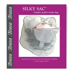 Braza Silky Sac Lingerie Laundry Bag Style S8072 - Light Pink by Braza. $8.00. Cylindrical zippered mesh bag is designed to hold and prevent delicates from damage in the wash. Extra roomy to hold a number of bras or underwear. Sturdy zipper for durability. Ideal for bras, lingerie, panties, slips and hosiery. May also be used with delicate clothes. Fine mesh design prevents snags and tears on delicate fabrics. Material Content: 100% Nylon. Perfect for travel and organizing. Dimen...