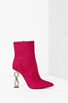 aaeb8f6032f Jeffrey Campbell Lynked Waved Pony Hair Boot
