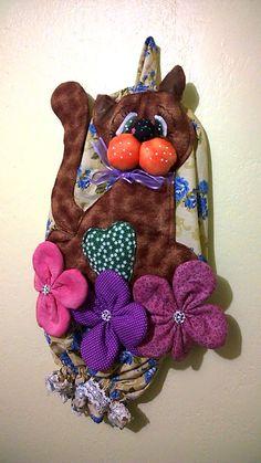Puxa saco Gatão, da Monica Cilene Art's