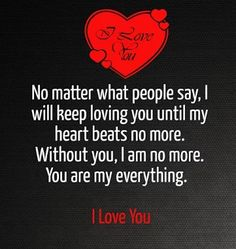 I Love You Quotes for Him & Her
