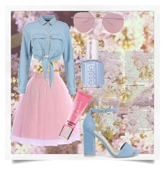 """Без названия #3"" by maria300317 on Polyvore featuring мода, Boohoo, Beauty Rush, ASOS и Nly Shoes"
