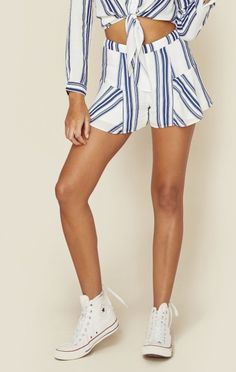 Lovers+friends Clothing Shorts & Skirts High Waisted Shorts Oasis Skort