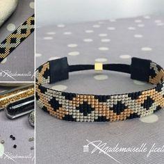 Bonne Saint-Valentin ! ❤️ Nouveau bracelet elle&lui, avec entrelacement de perles dorées et argentées sur fond noir mat. ✨ #miyuki #bracelets #madewithlove #perlezmoidamour #saintvalentin#diy #jenfiledesperlesetjaimeca #jenfiledesperlesetjassume