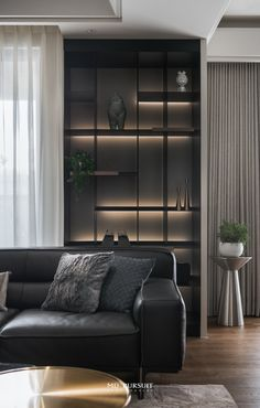 Living Room Storage, Living Room Interior, Living Room Decor, Luxury Dining Room, Luxury Living, Room Partition Designs, Shelving Design, Bedroom Flooring, Cabinet Design