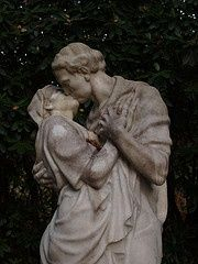 { CEMETERY ART } / the eternal kiss