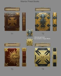 ArtStation - Book Concepts, Sven Bybee