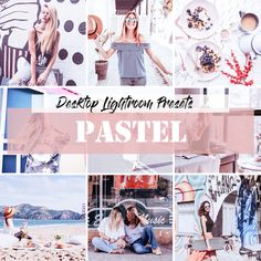 Buy Lightroom Presets Pastel by LukStudioDesign on GraphicRiver. I present to You a set of presets 20 Pastel Lightroom Presets for Lightroom. Important: This set of presets intended . Professional Lightroom Presets, Lightroom 4, Photoshop Actions, Lightroom Effects, Vsco Effects, Lightroom Tutorial, Photoshop For Photographers, Photoshop Photography, Pastel Photography