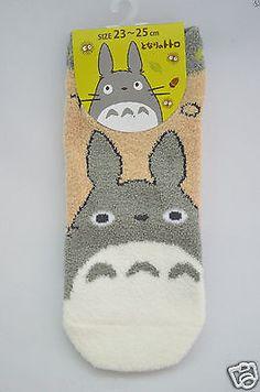 My Neighbor Totoro fukusuke Socks 1pair 23 -25 cm Studio Ghibli Women's JAPAN 04