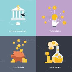 Internet Banking, Make Money by robuart on Creative Market