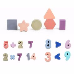 Montessori Wooden Counting Toy