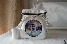 4ªPIEL cuartapiel.andicoberry.com Bag B18 White. Handmade with love!