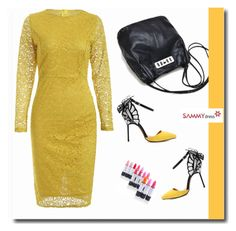 """""""FEELING GOOD IN YELLOW!"""" by albinnaflower on Polyvore featuring moda"""