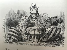 John Tenniel illustration from 'Through the Looking Glass'