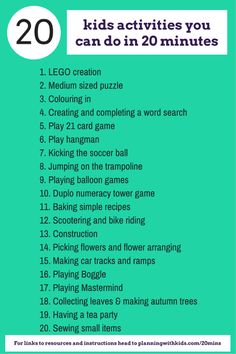 20 kids activities you can do in 20 minutes (3)