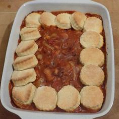 Sausage Casserole with Cobbler Topping Yummy Recipes, Great Recipes, Dinner Recipes, Favorite Recipes, Sausage Casserole, Casserole Recipes, Cobbler Topping, Dinner Party Menu, Dry Mustard
