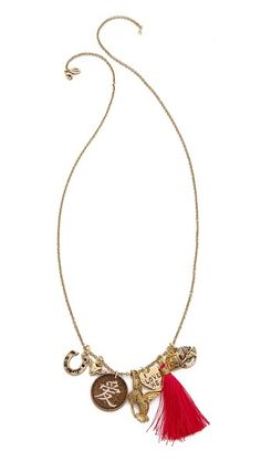 Alisa Michelle Designs Love Necklace #Shopbop #MakeTheOutfit